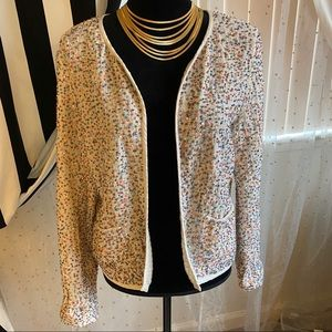 ZERO beaded and sequined blazer perfect for Easter